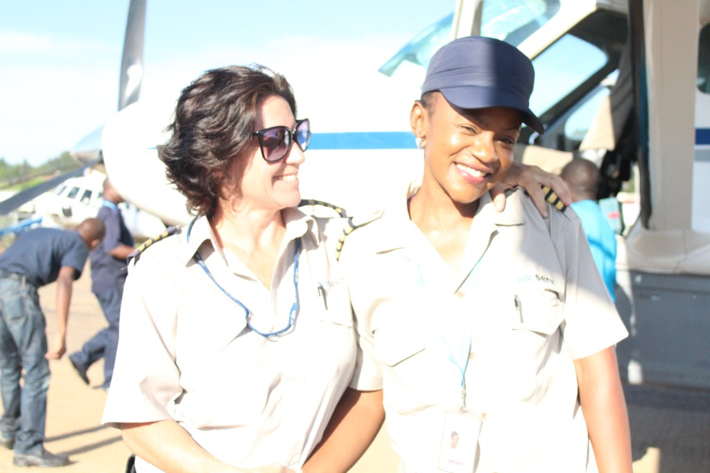 Vanita Kayiwa Ugandan Captain smiling
