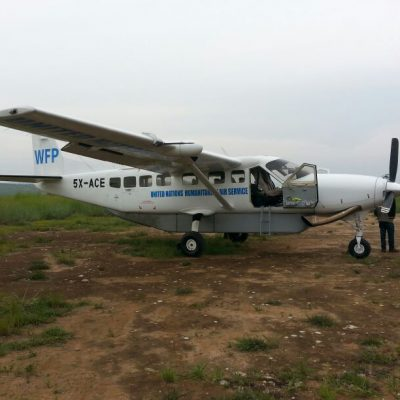 United Nations Humanitarian Air Service Plane