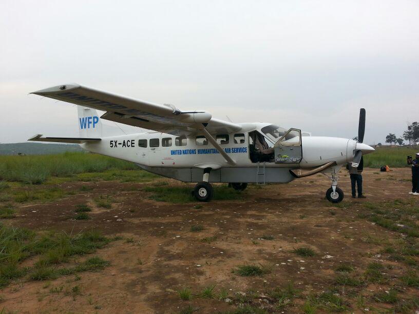United Nations Humanitarian Air Service Plane