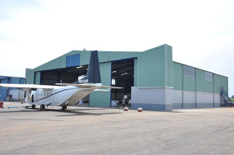 Second Aircraft Hangar in Entebbe Exterior Photo